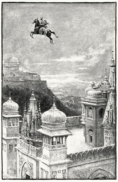 Walter Paget, from The Arabian nights, with an introduction by W. H. D. Rouse, London, New York, 1907