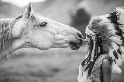 El cuento de la Mujer Cherokee