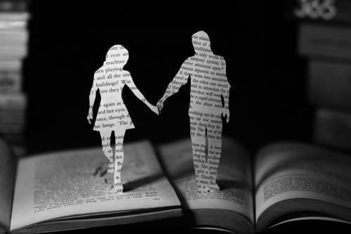 pareja de papel