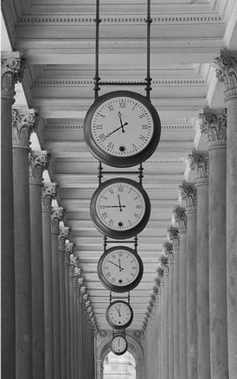 Tiempo al tiempo.