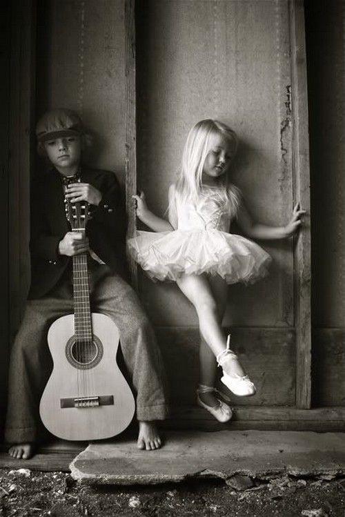 guitarra y bailarina