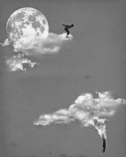 Lanzarse a las nubes