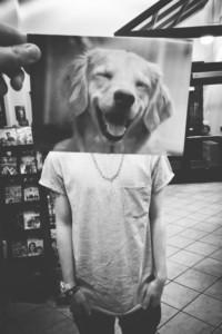 Cara de perro feliz