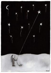 Estrellas dibujadas