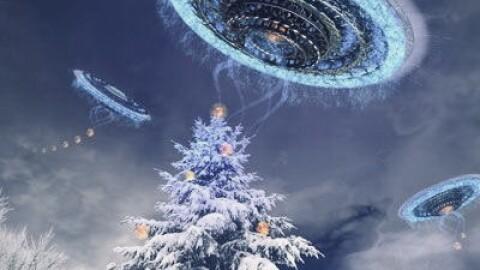 Cuento de Navidad : El Extraterrestre