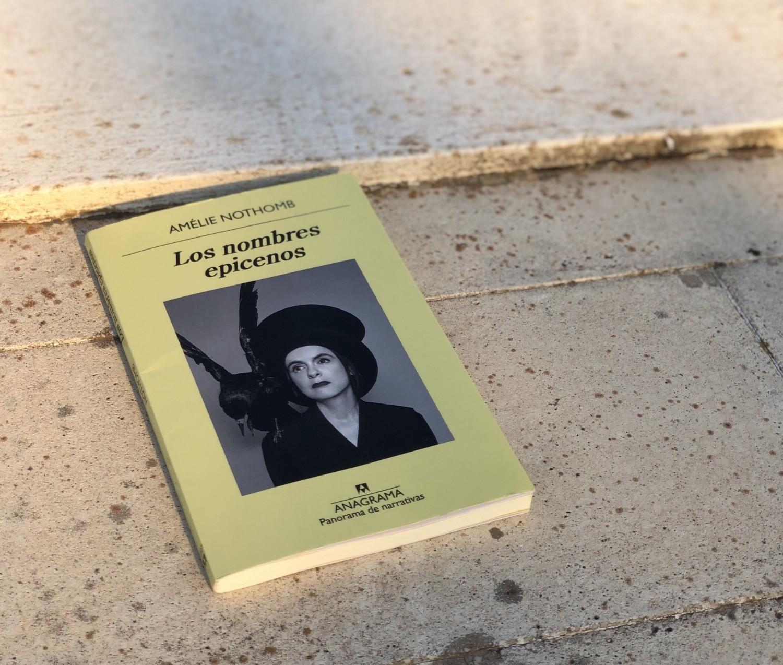 """Reseña de """"Los nombres epicenos"""" de Amélie Nothomb"""