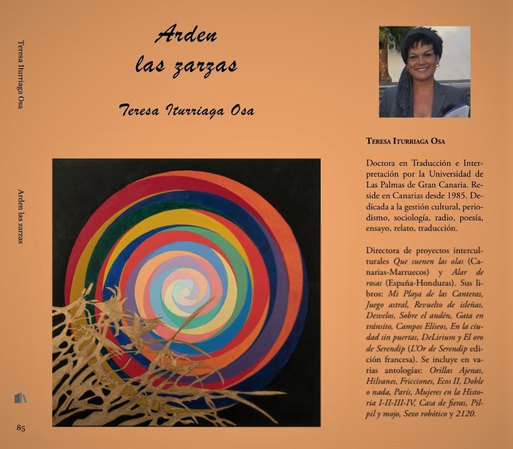 "La Editorial de mujeres La vocal de Lis publica ""Arden las zarzas"" de Teresa Iturriaga Osa"